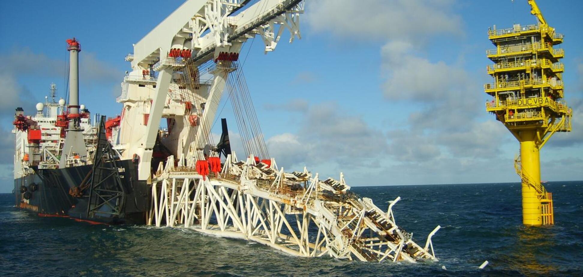 'Фортуна' може закінчити будівництво 'Північного потоку-2' у водах Данії за півтора місяці