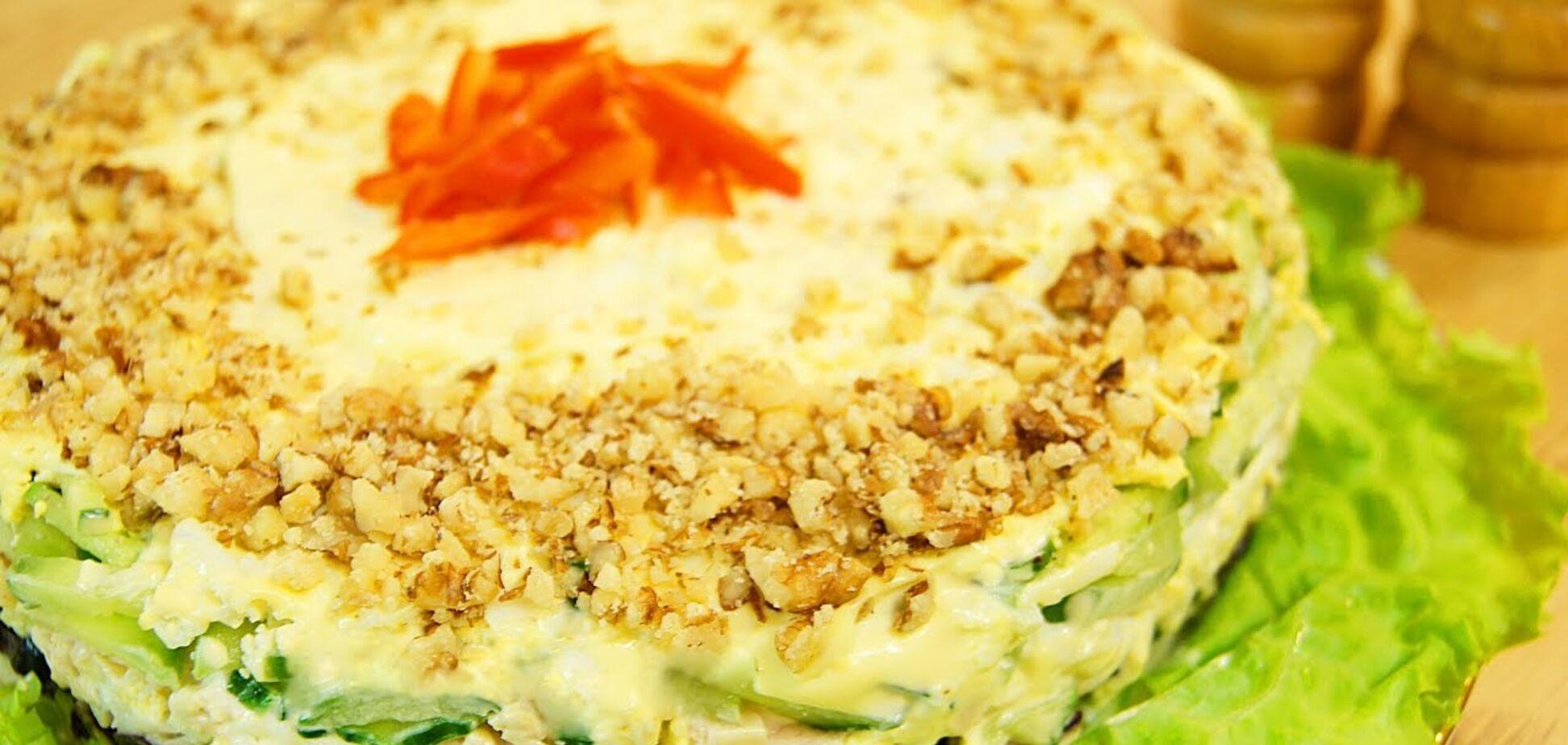 Рецепт неймовірно смачного салату 'Жіночий каприз' до 8 березня