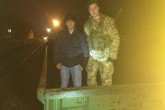 Под Одессой пограничники обнаружили нелегала, спрятавшегося в куче угля