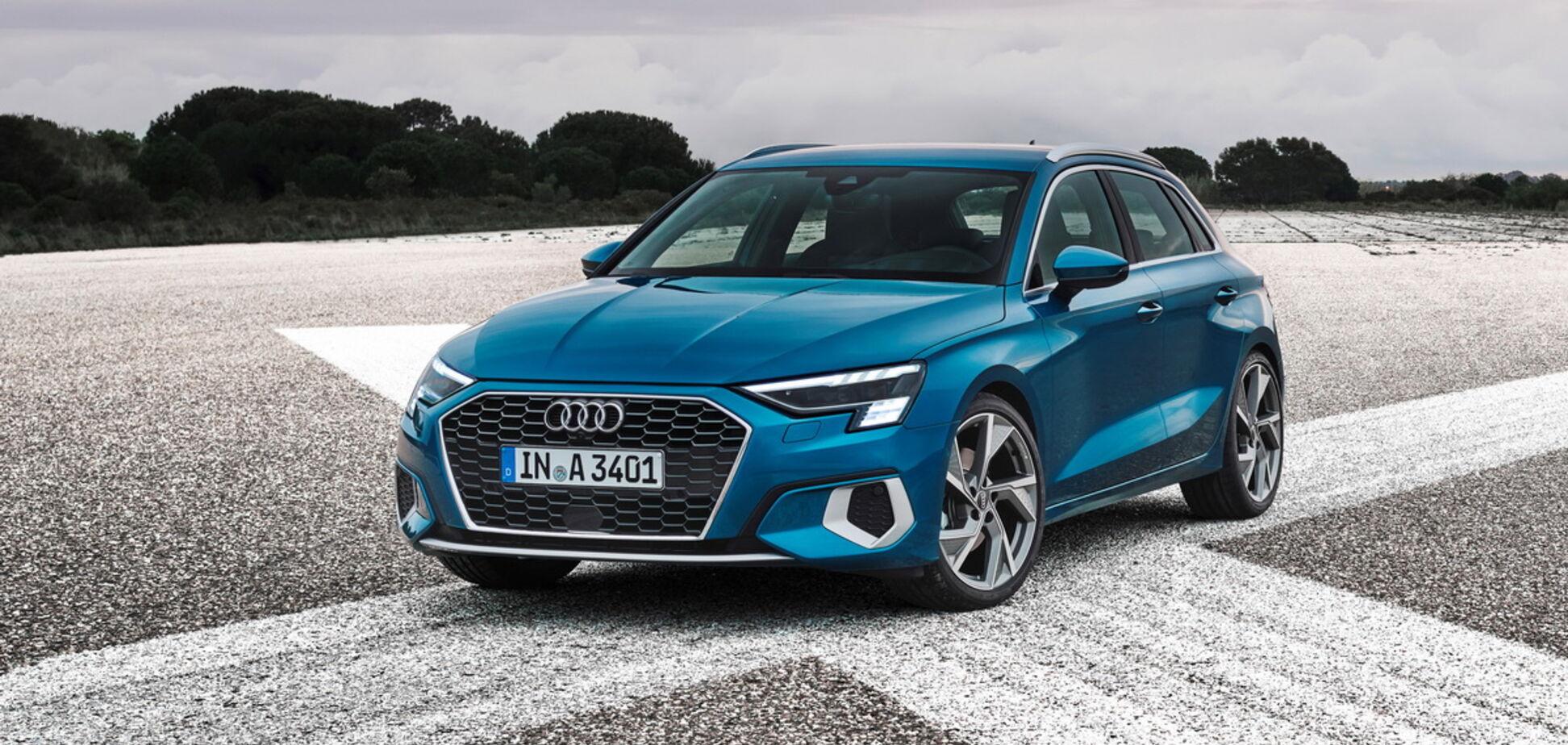 Новий Audi A3 здивував дизайном і оснащенням