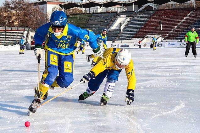 Сборная Украины по хоккею с мячом