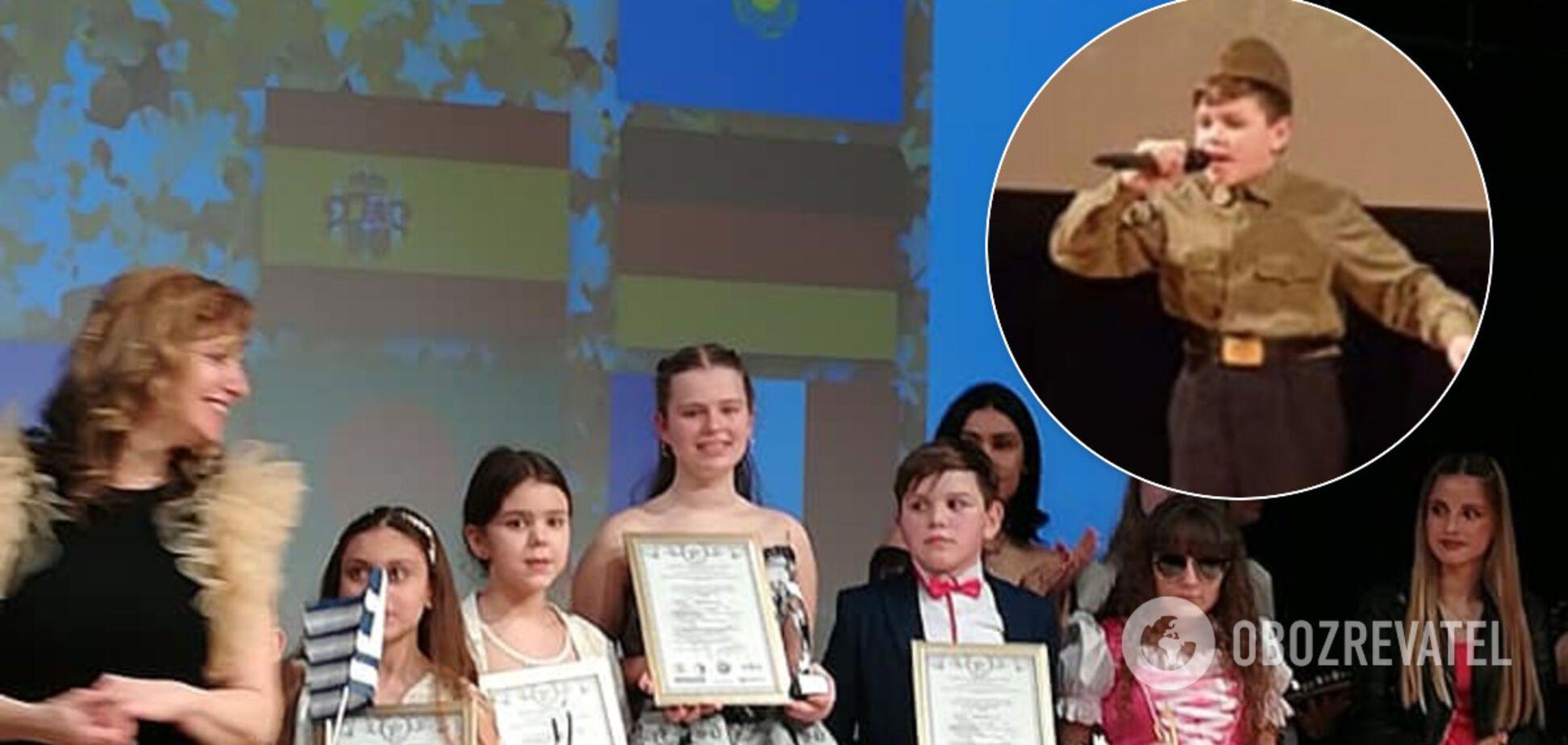 'После Лондона каждый день плачем': украинского школьника затравили из-за 'Смуглянки'