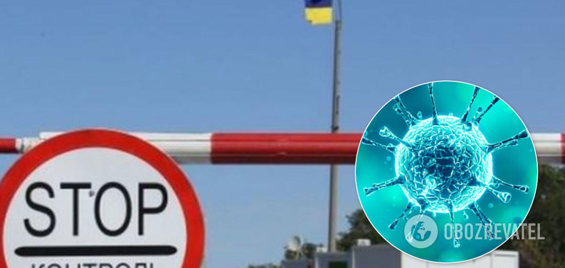Из-за коронавируса введены ограничения на пунктах пропуска Донбасса