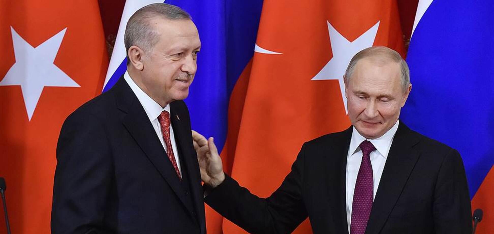 Эрдоган загнал Путина в медвежий капкан