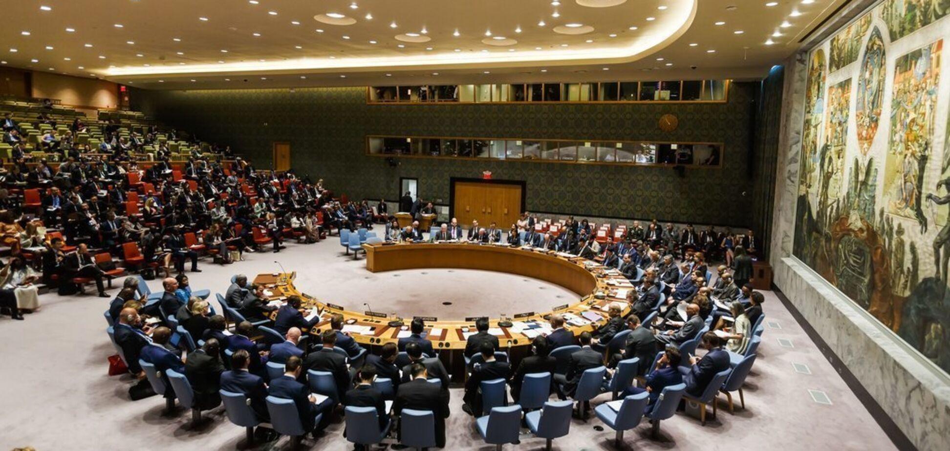 Украина созывает Совбез ООН из-за Крыма