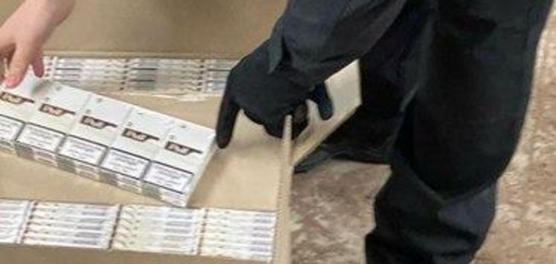 СБУ конфисковало партию табачных изделий