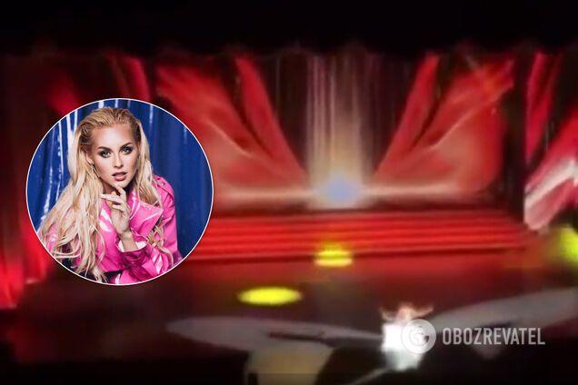 Анастасія Вишневська зламала ногу на сцені