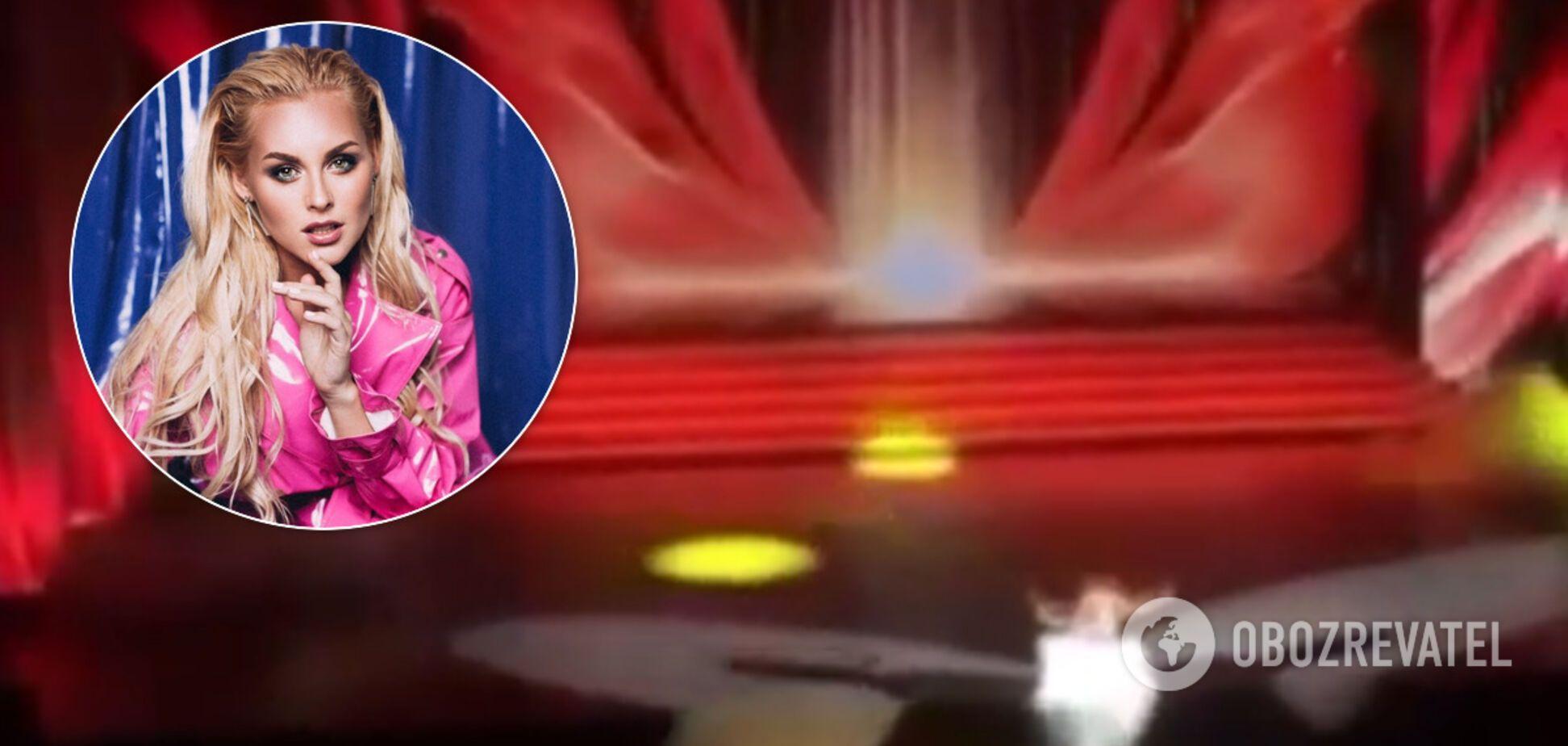 Анастасия Вишневская сломала ногу на сцене
