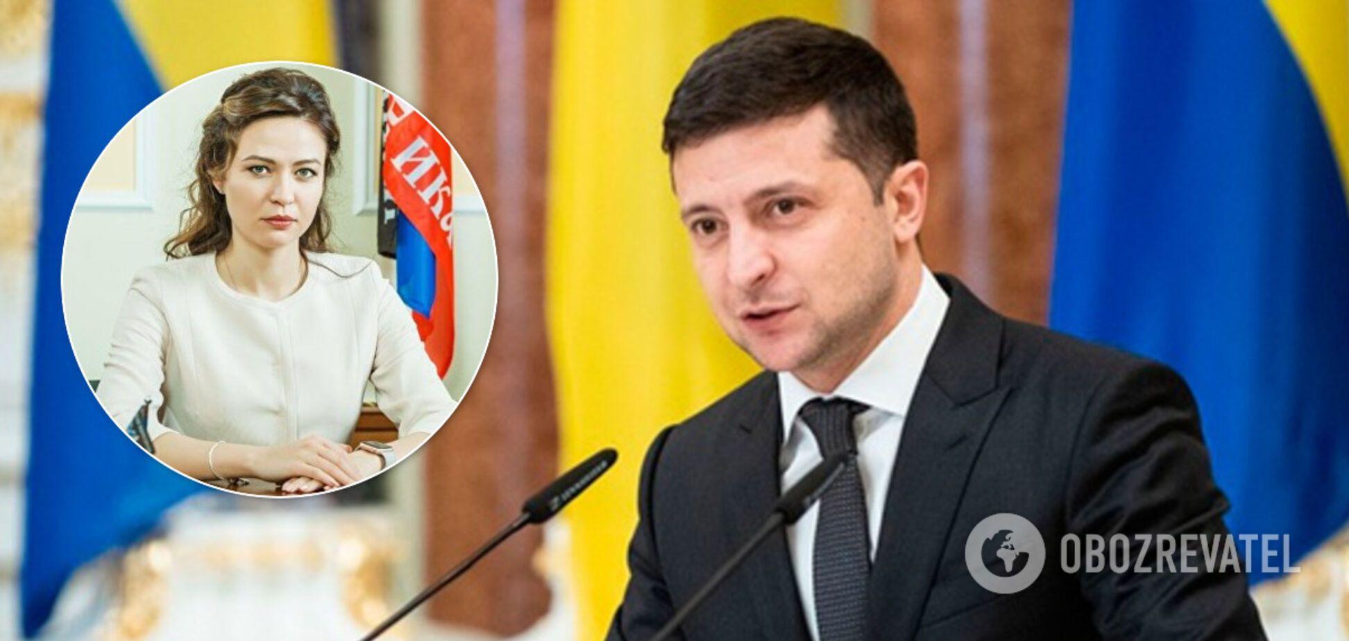 Никонорова ответила Зеленскому на ультиматум для Путина по Донбассу