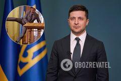 Зеленський порівняв президентство зі 'Слугою народу'