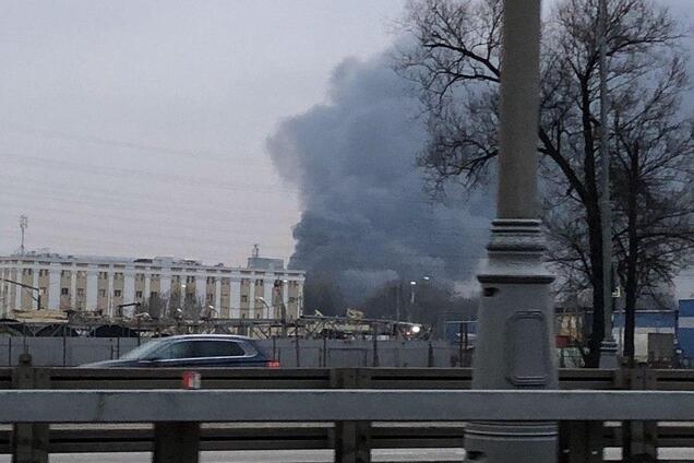 Пожежа в Новій Москві