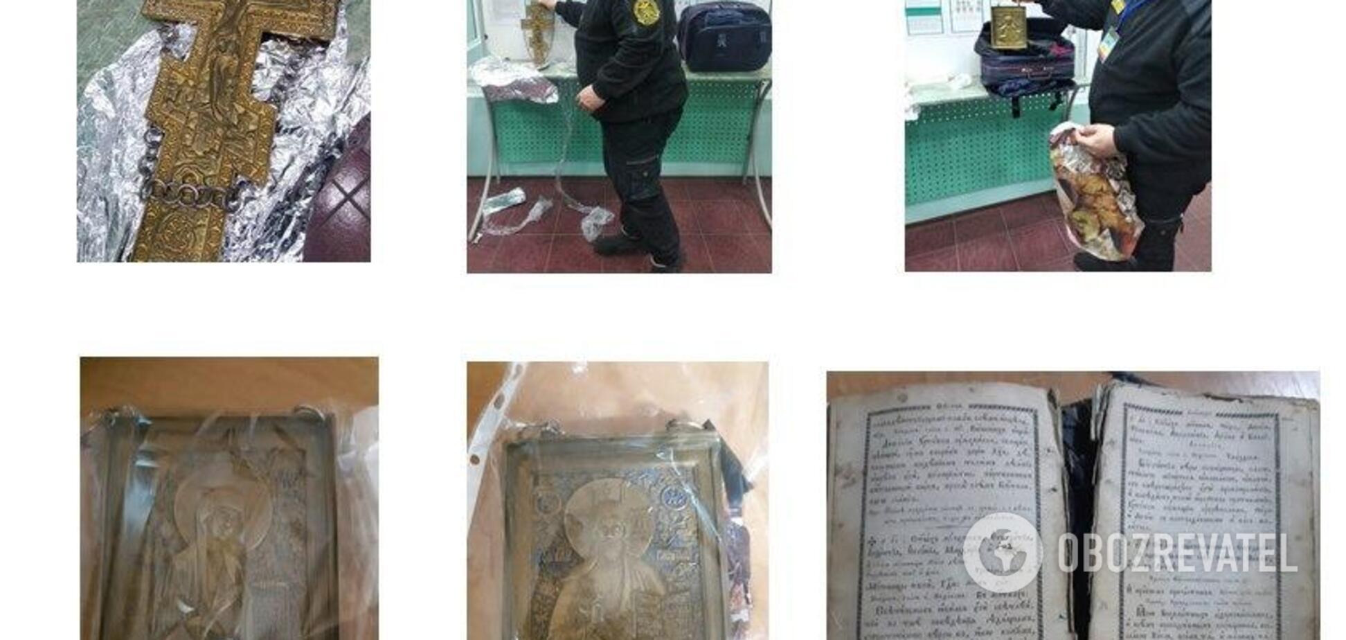 Украинец пытался вывезти в Россию старинные иконы