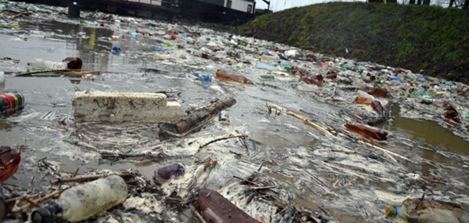 Тонны мусора из Украины приплыли в ЕС: жуткие фото ЧП
