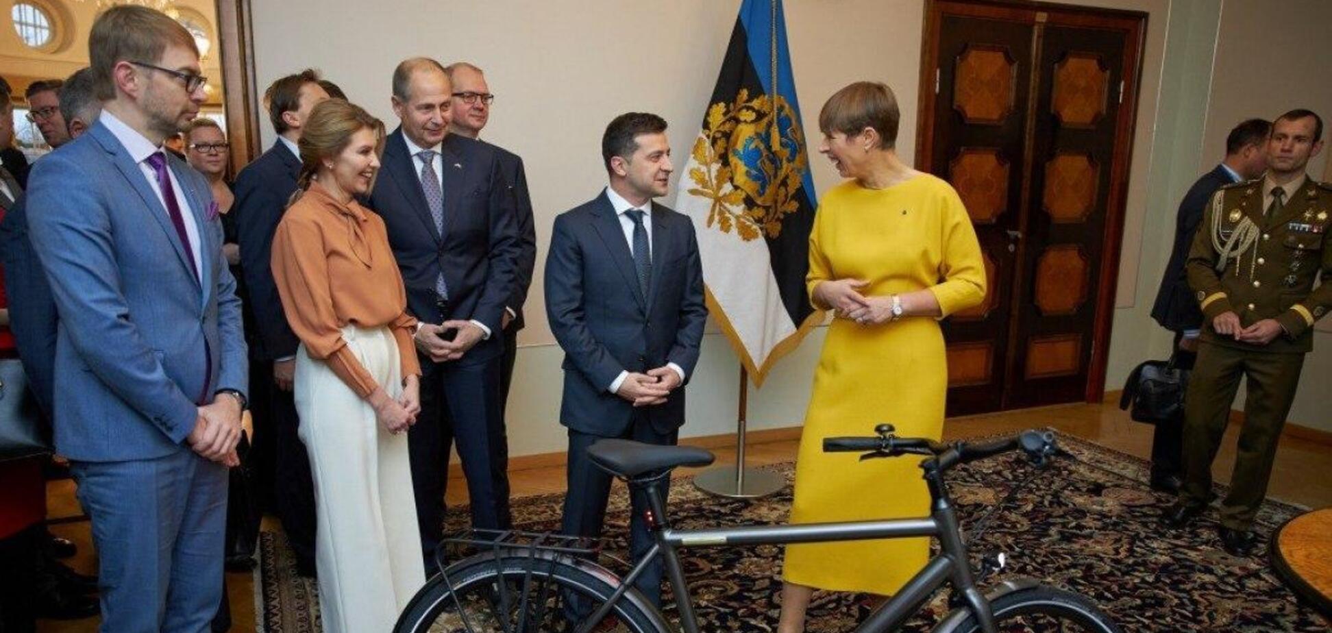 Зеленский рассказал, почему пока не ездит на велосипеде