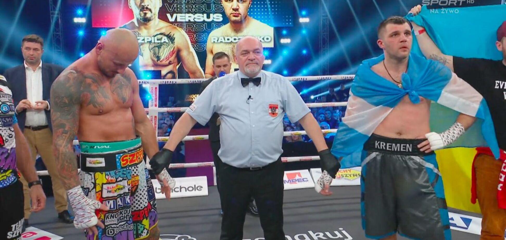 Украинского боксера Сергея Радченко скандально лишили победы