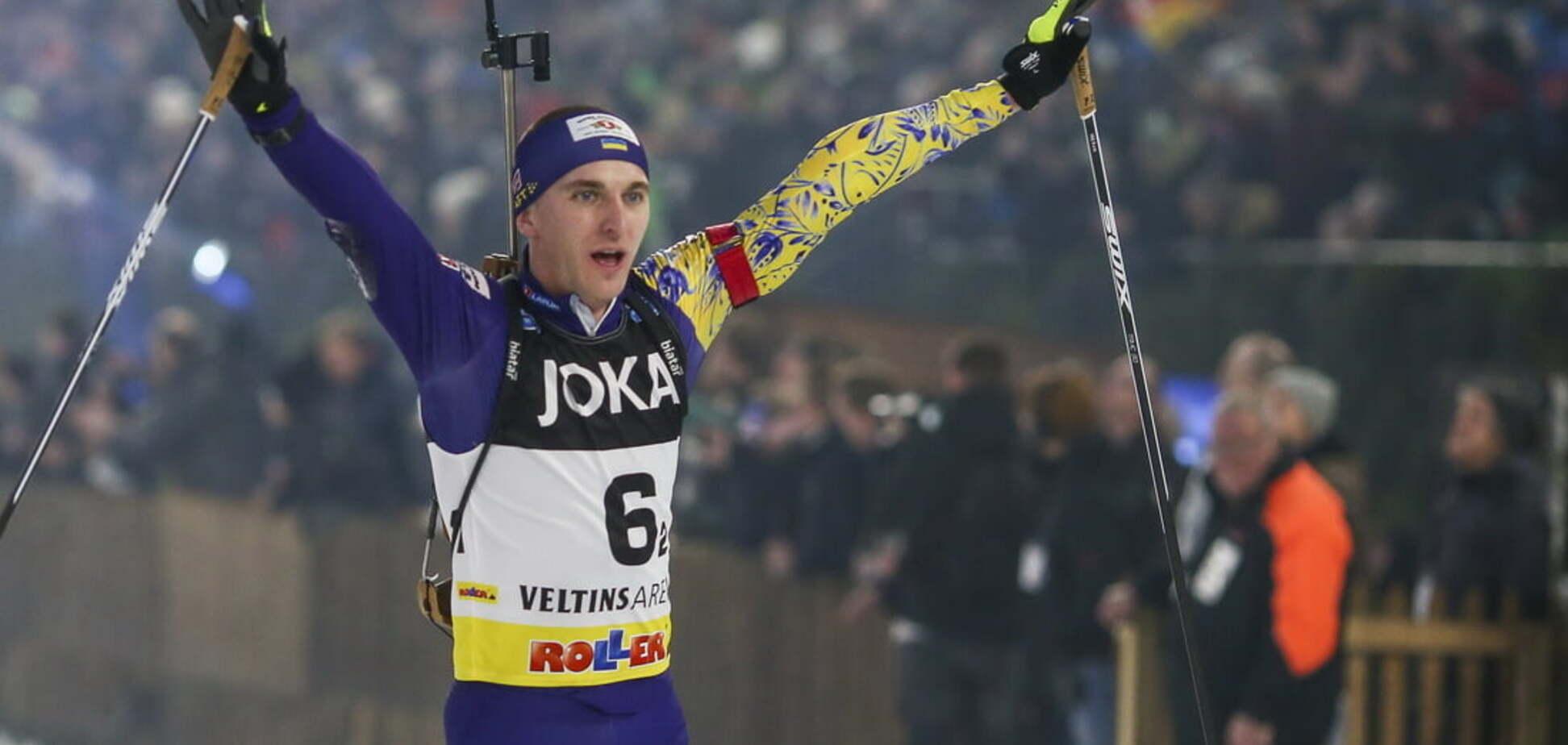 Пидручный финишировал 4-м в масс-старте Кубка мира по биатлону