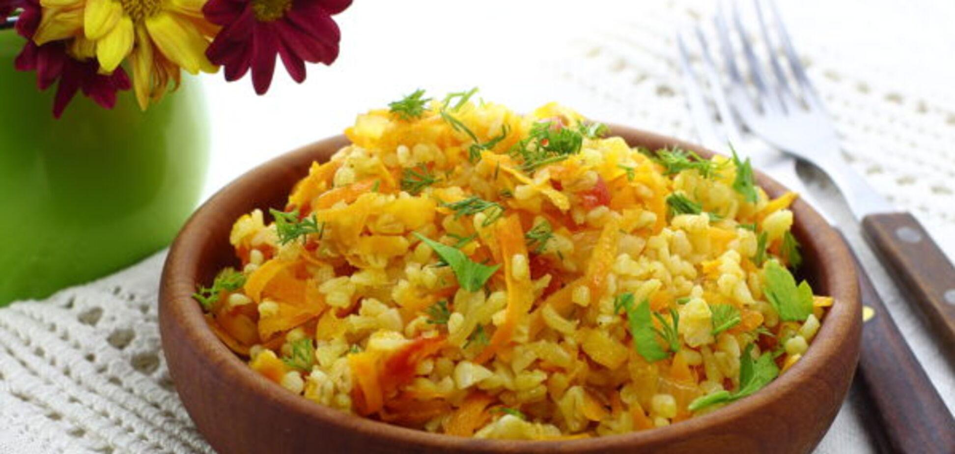 Рецепт ситної та дуже смачної страви з булгура