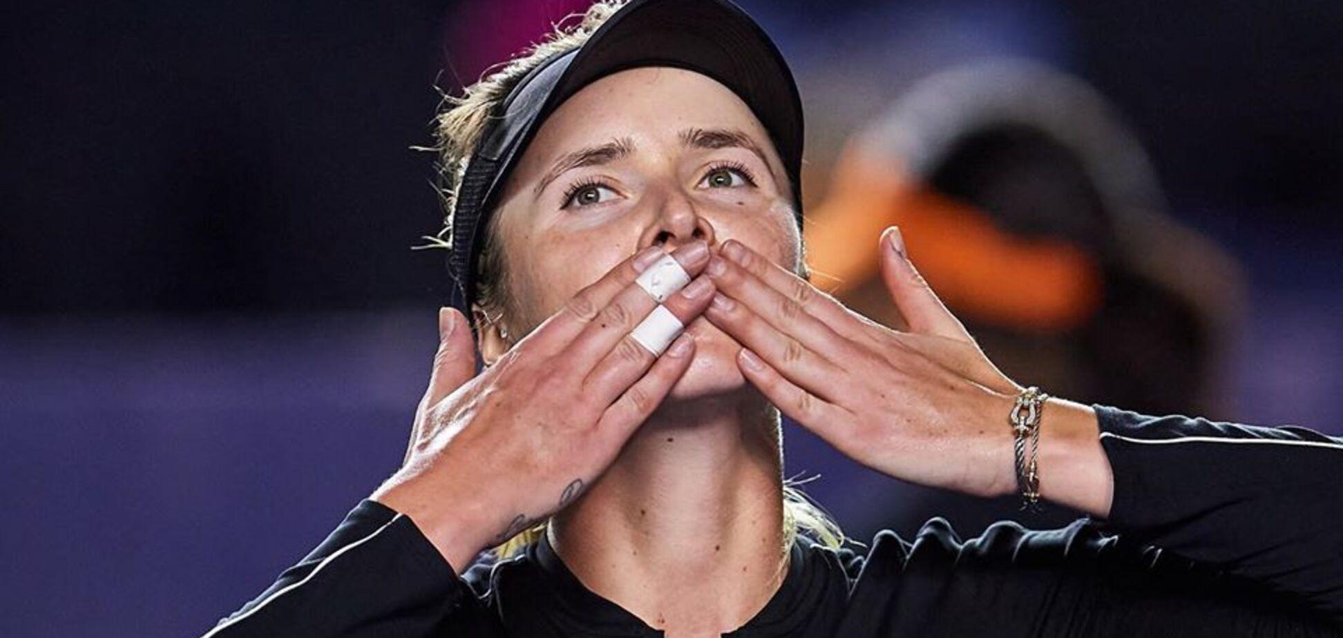 Свитолина в трехчасовом триллере выиграла первый трофей в сезоне