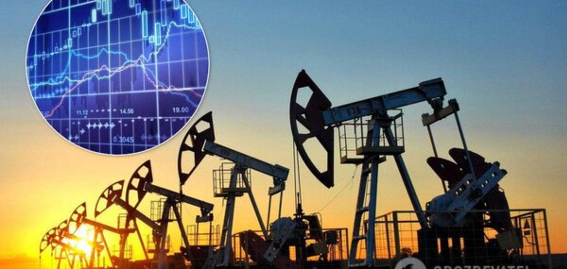 Ціни на нафту рекордно обвалилися й наблизилися до $30