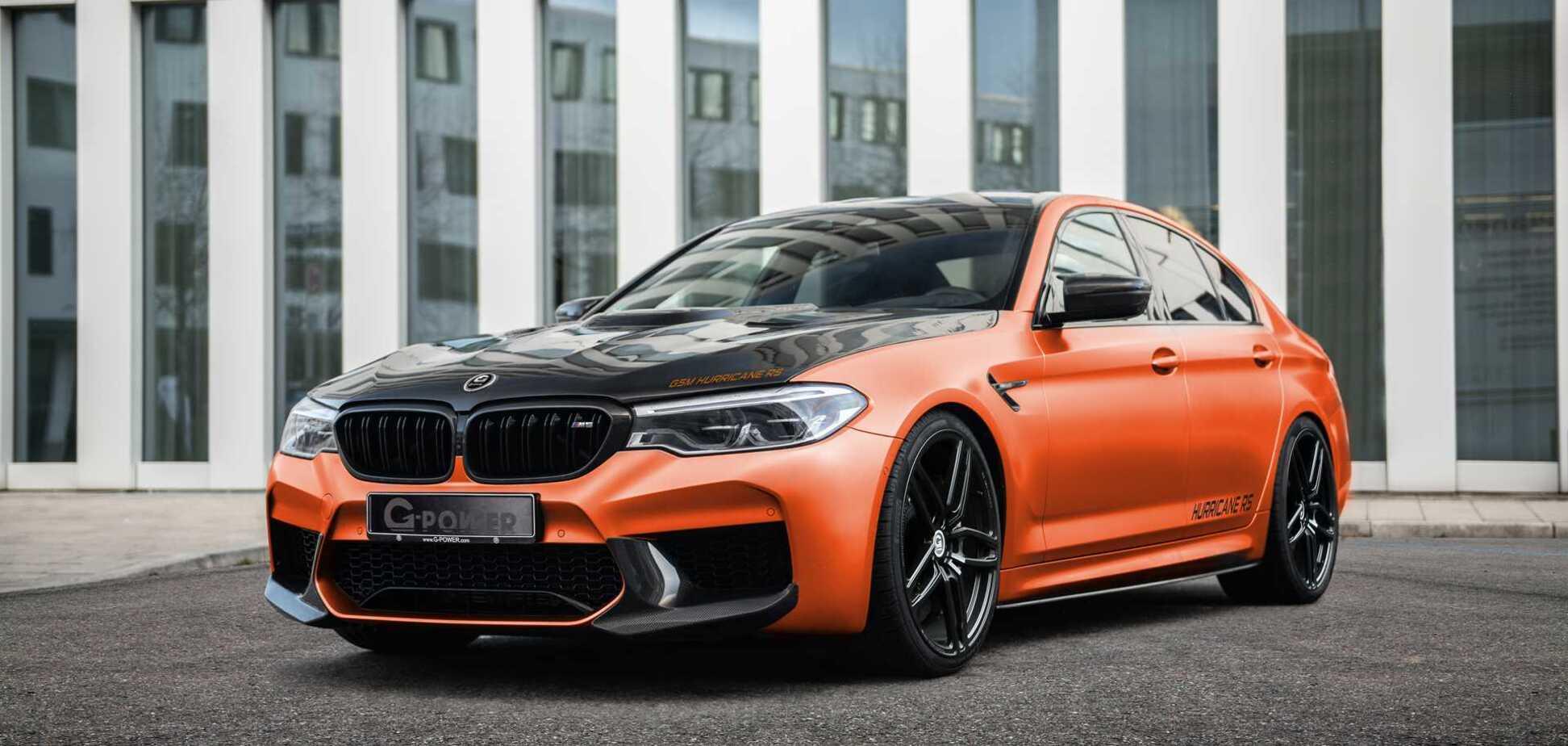 Ураган на колесах: седан BMW розігнали до 350 км/год