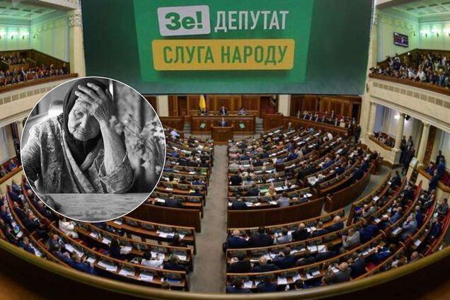 """Денег на пенсии не хватит, а выплаты под угрозой: как """"Слуга народа"""" забрала бюджет, а Кабмин наобещал прибавки"""
