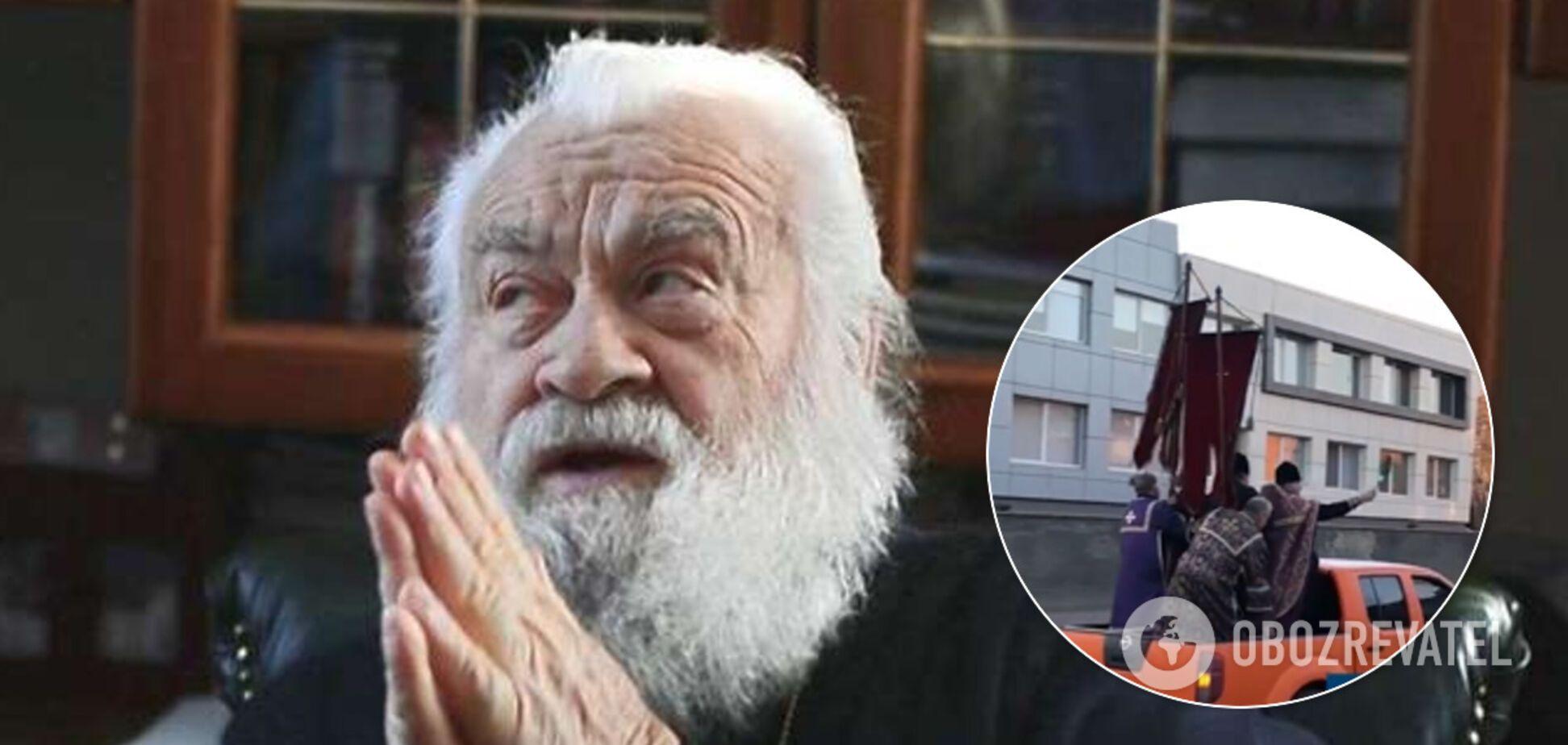 Митрополит МП Софроний угрожал журналисту после освящения Черкасс на пикапе