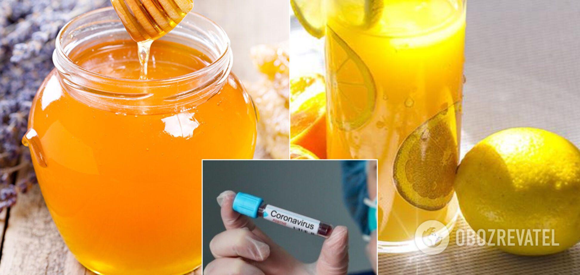В ВОЗ объяснили, вылечит ли мед, лимон и имбирь от коронавируса. Иллюстрация