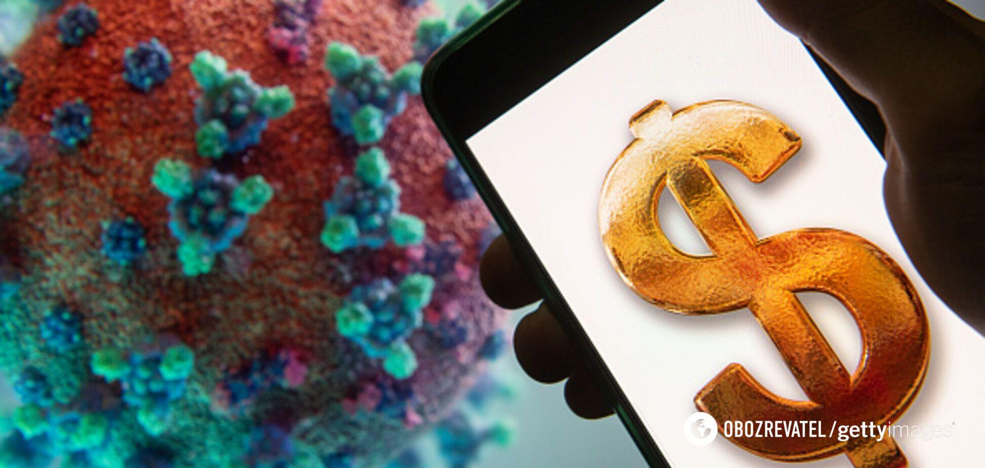 Епідемія коронавірусу: багатії втратили більше $400 млрд