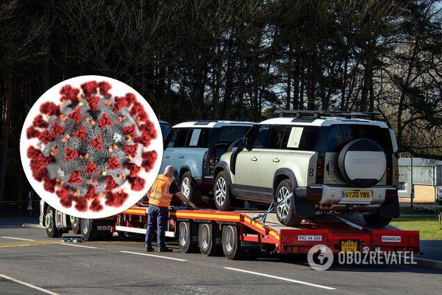 Армия автомобилей против COVID-19: Land Rover мобилизовал целый флот
