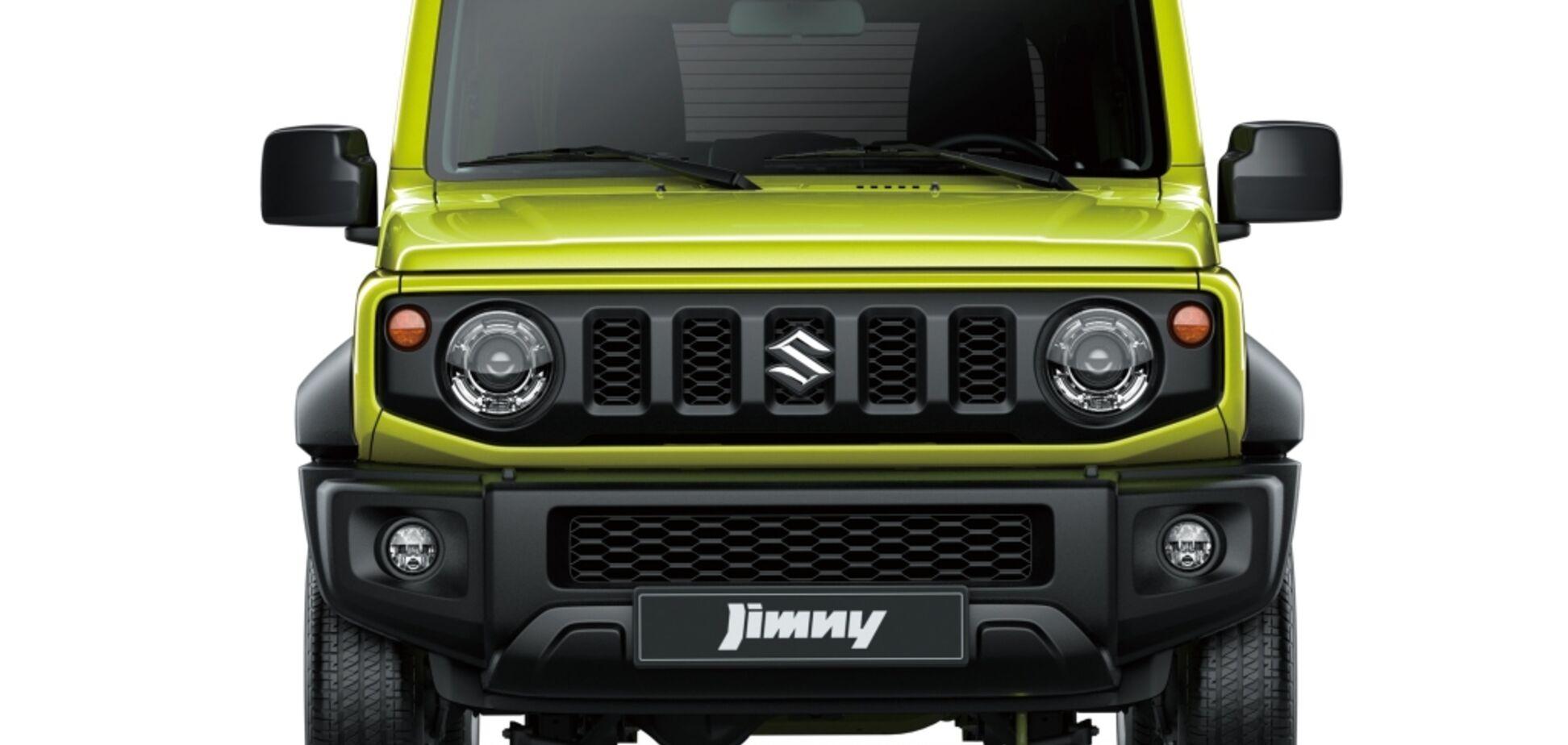 Suzuki Jimny отримає п'ятидверну версію