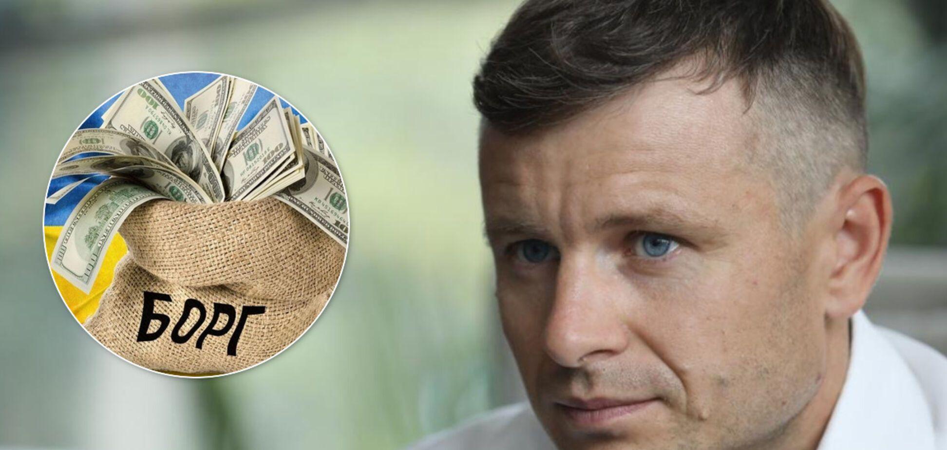 Министр финансов заявил, что Украине не нужно реструктуризировать госдолг