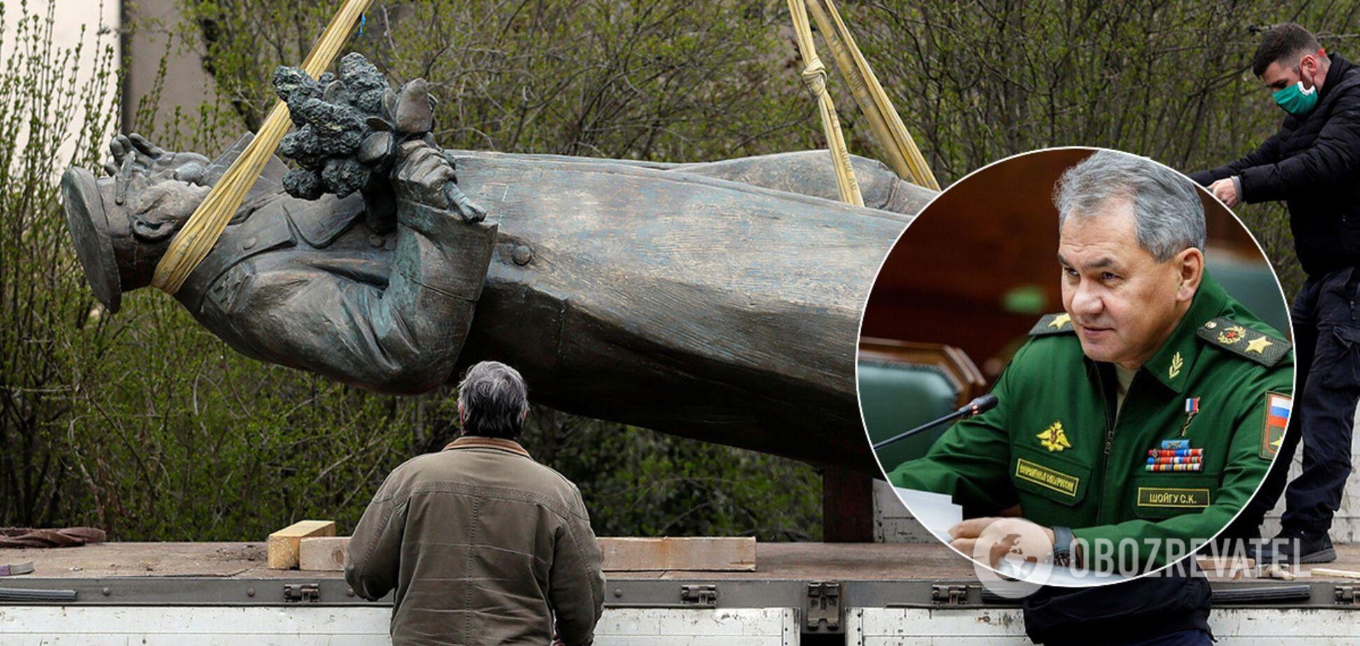Рішення Шойгу 'врятувати' пам'ятник з Чехії обурило росіян