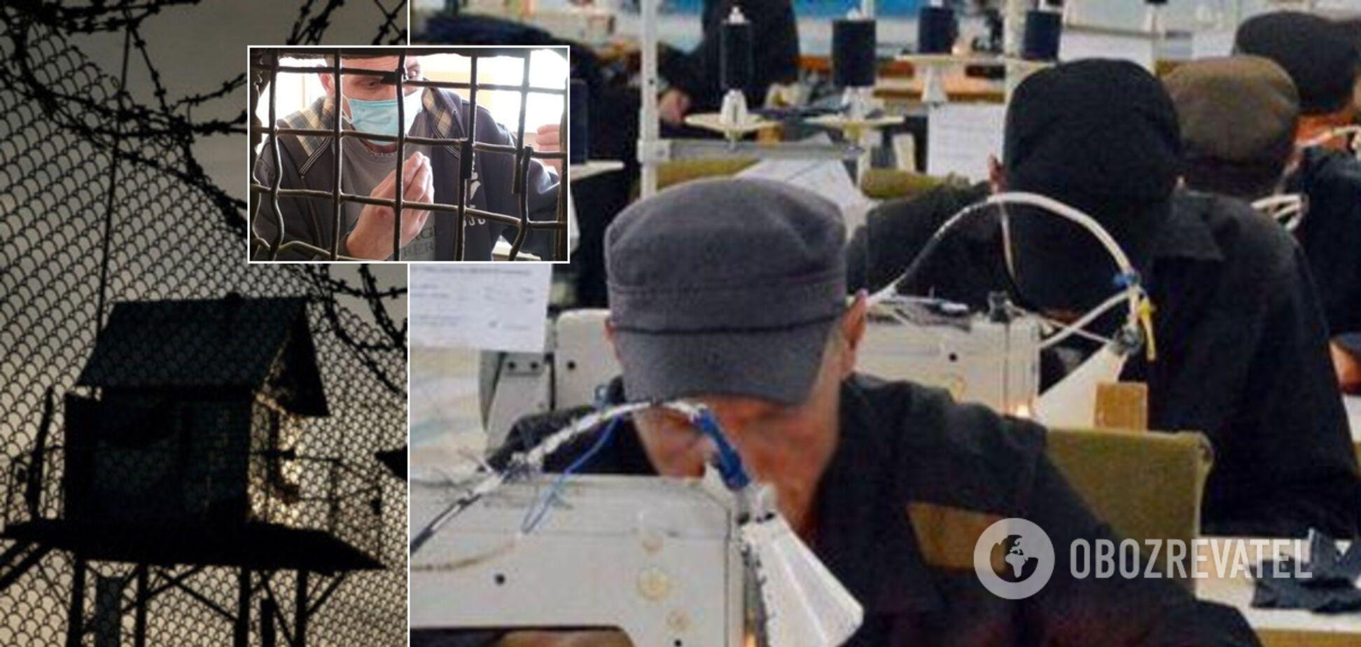 В 'Л/ДНР' заключенные кинулись шить маски: их здоровье не проверяют