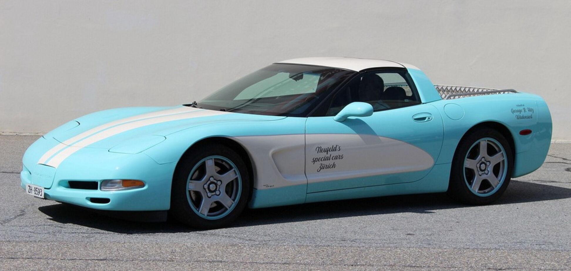 У Швейцарії виявили незвичайний Chevrolet