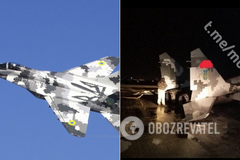 В Мелитополе аварийно приземлился истребитель МиГ-29. Фото с места ЧП