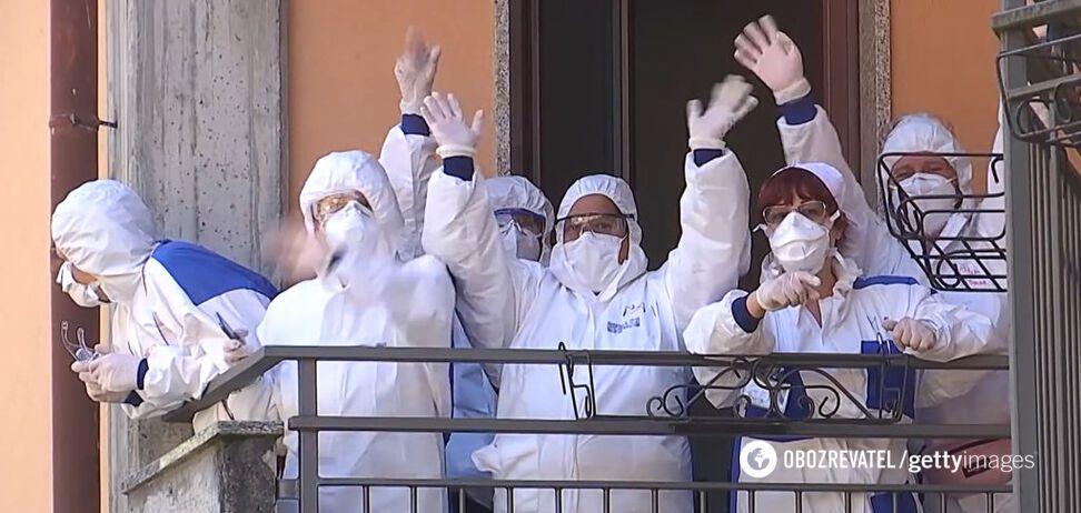 Вспышка коронавируса в Италии достигла пика: медики заявили о позитивном сигнале