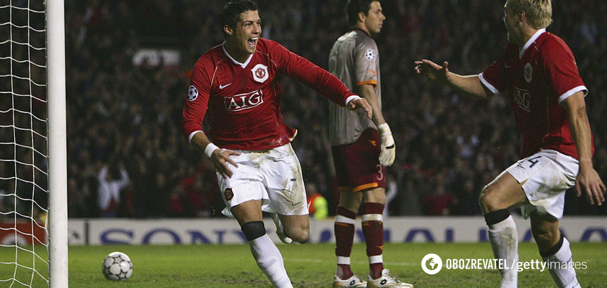 В сети показали первый гол Роналду в Лиге чемпионов: эффектное видео