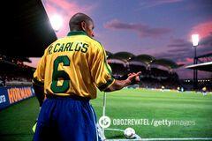 В інтернеті згадали найнеймовірнiший гол Роберто Карлоса