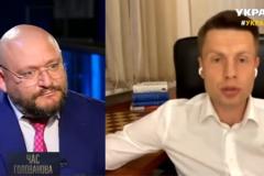 Михаил Добкин и Алексей Гончаренко поссорились в прямом эфире