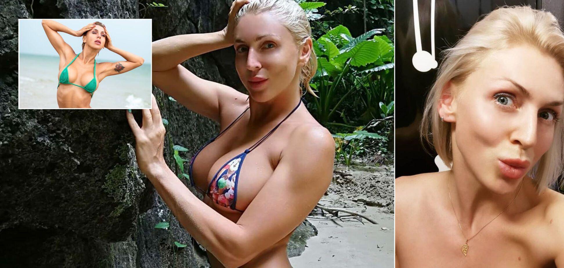 Украинская фитнес-модель Татьяна Федосеева похвасталась своей обнаженкой