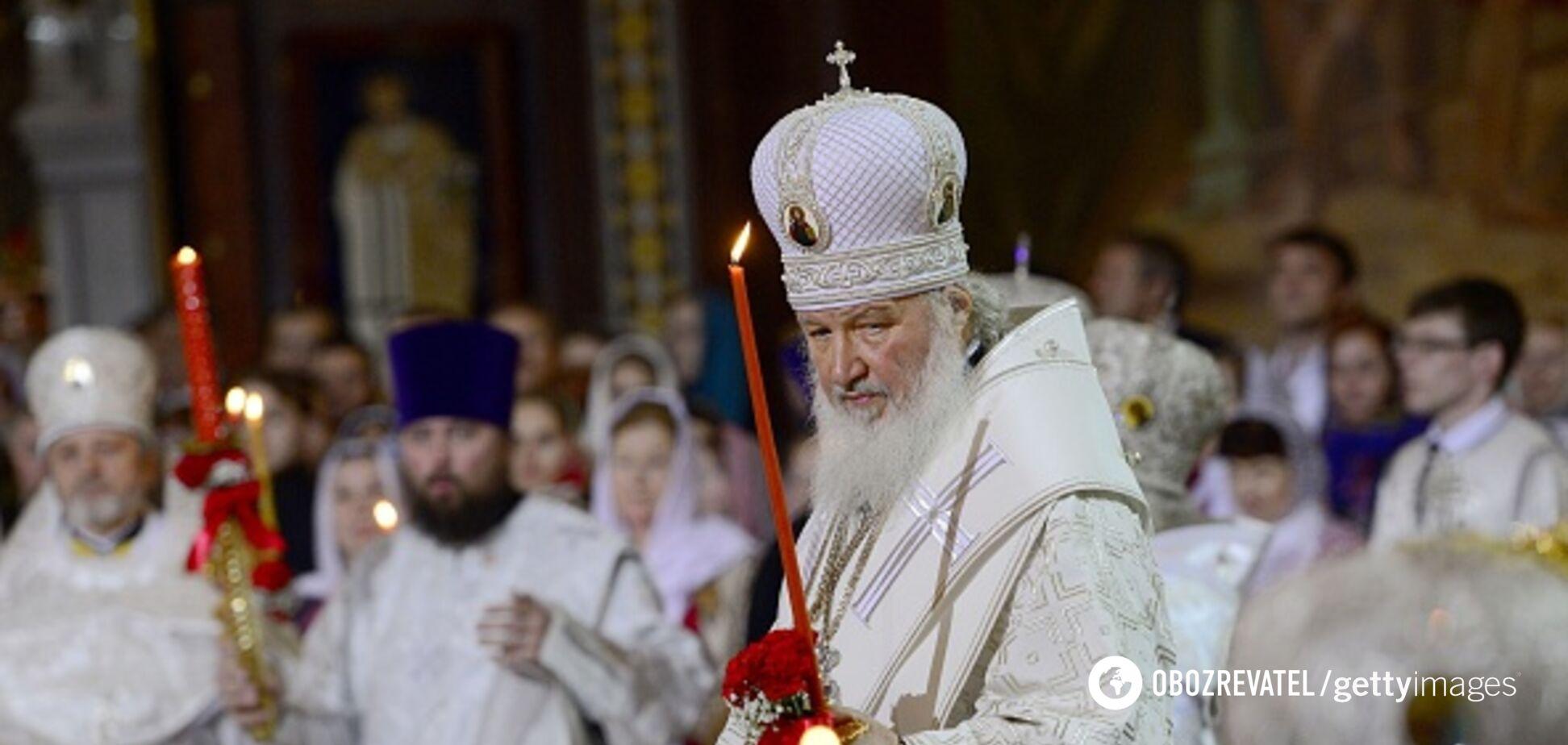 Патріарх Кирило заявив, що коронавірус послав Бог