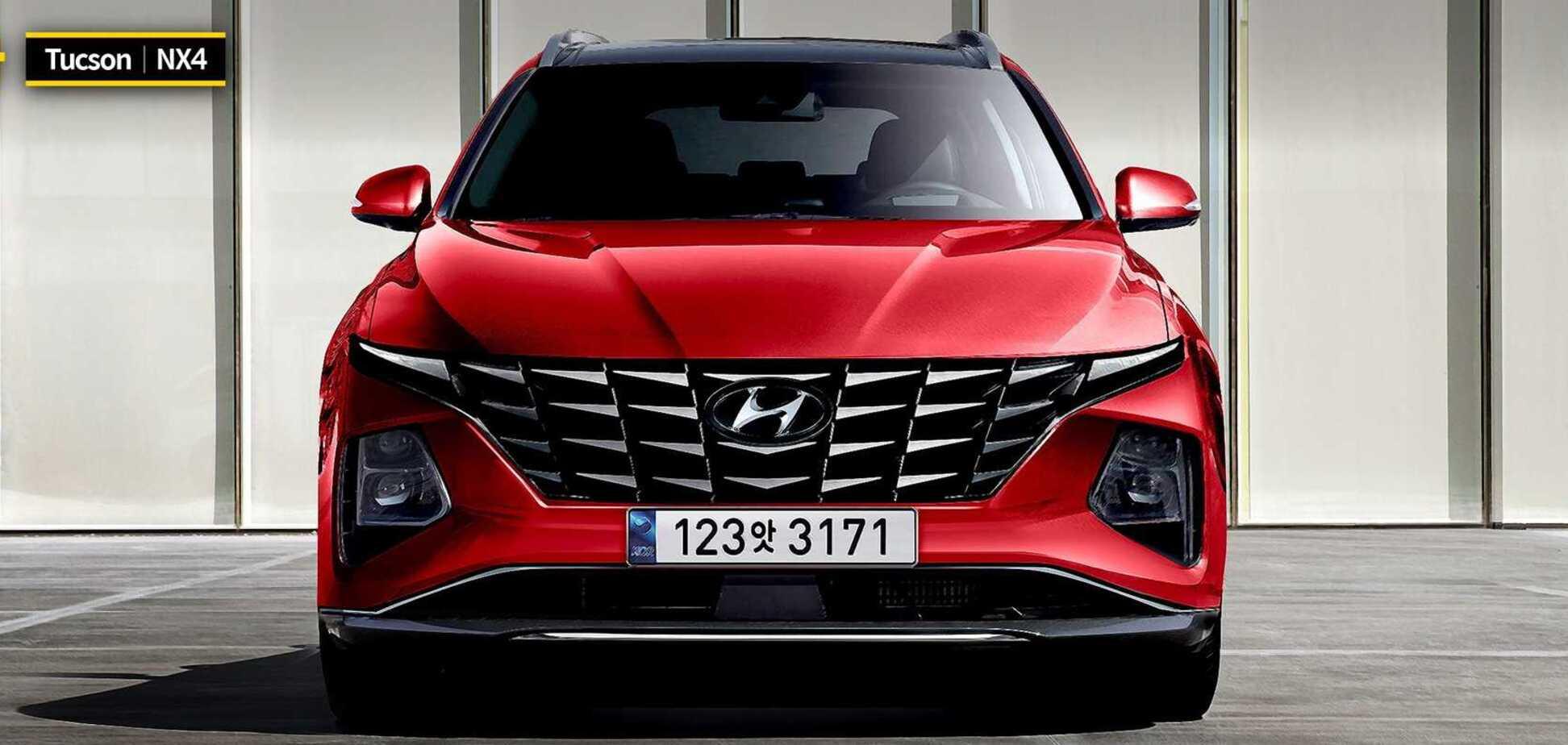 Новый Hyundai Tucson 2021 будет выглядеть круче Lamborghini Urus