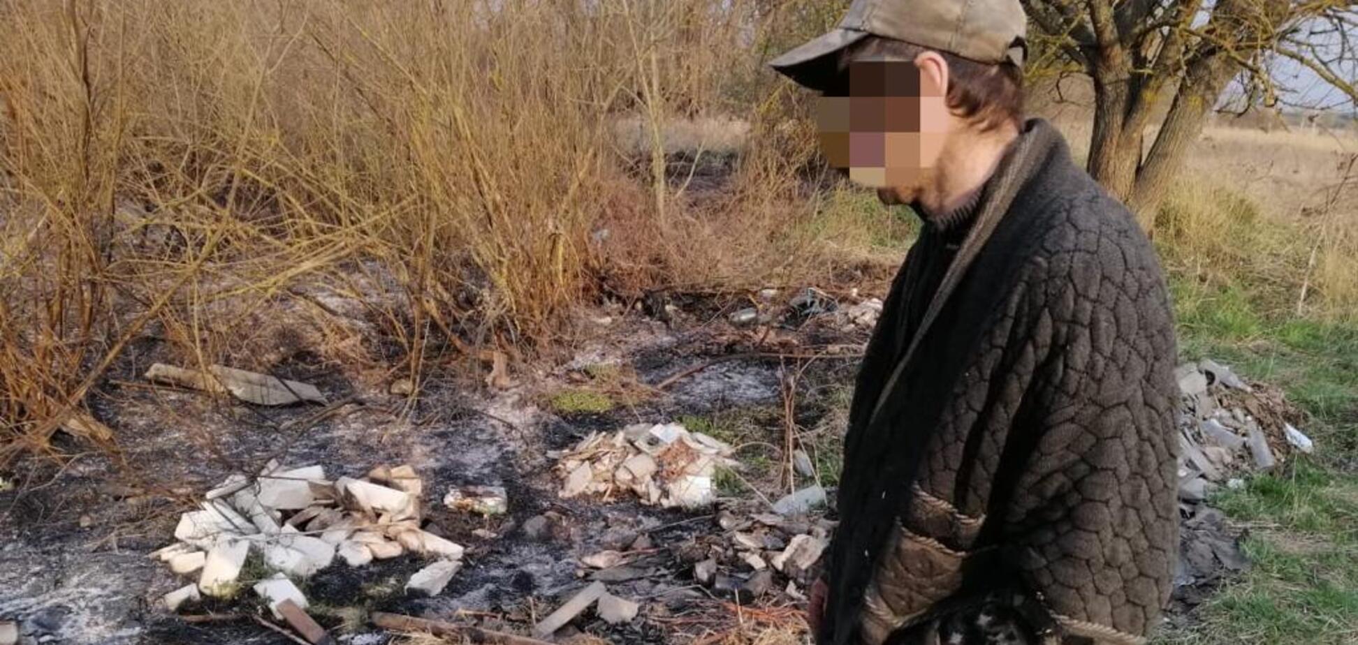 Поліція затримала підпалювача Чорнобильскої зони