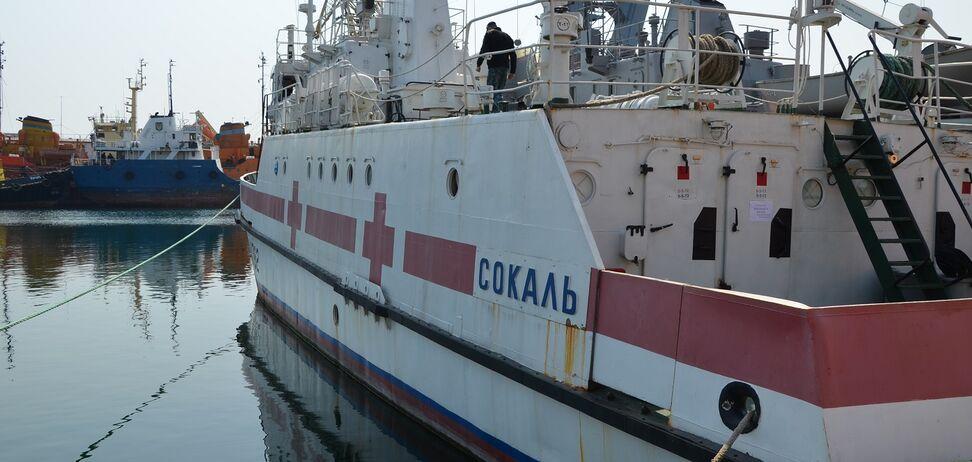 В Одесі 'коронавірусних' хворих лікуватимуть на судні ВМС України