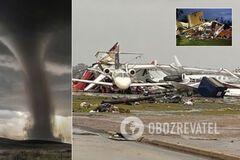США в разгар пандемии накрыли смертоносные торнадо: пугающие фото и видео