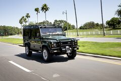 Американцы скрестили Land Rover и Corvette: подробности и фото