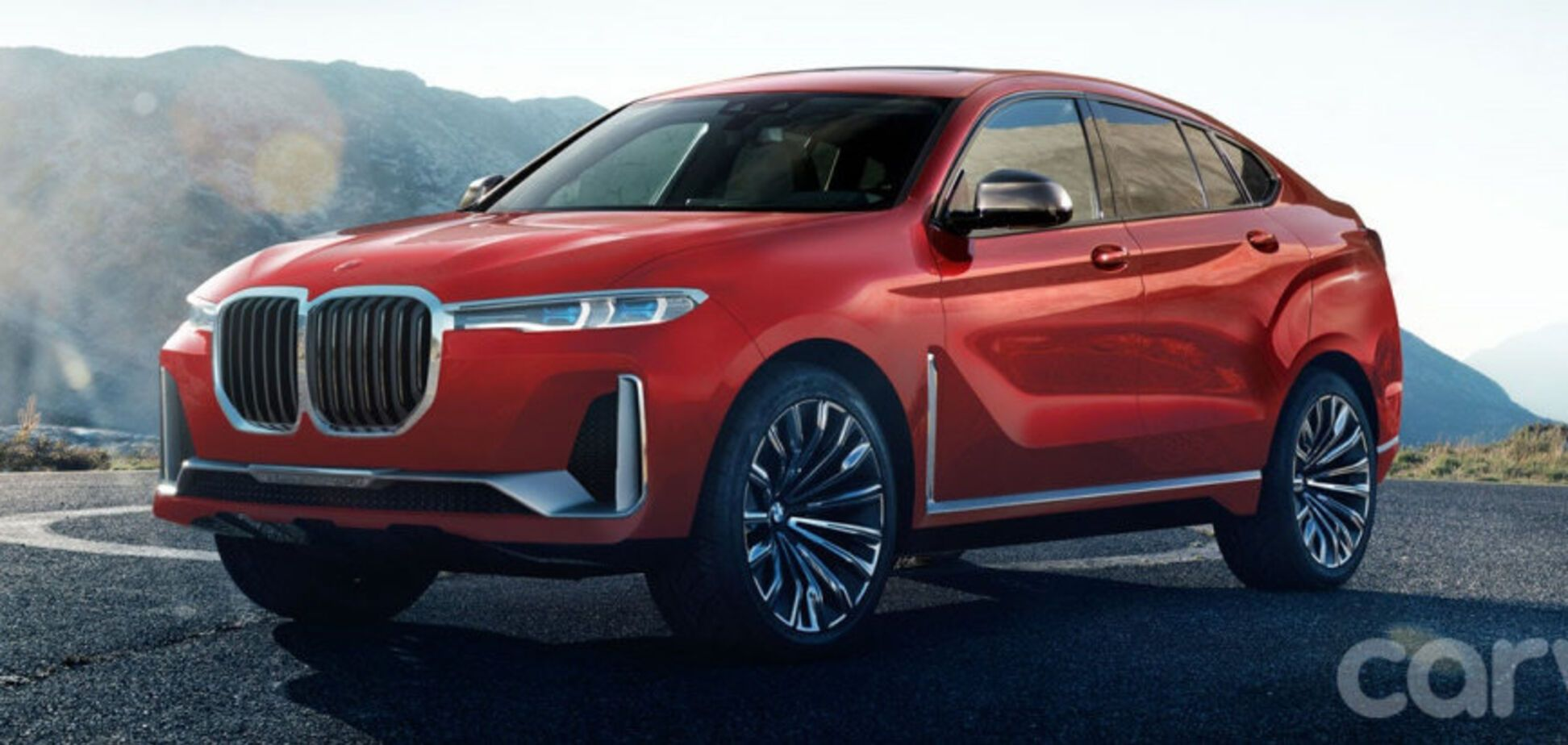 BMW X8 2021 года – самый крутой кроссовер немецкого бренда