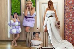 Голые на карантине: украинские звезды приняли участие во флешмобе с подушками