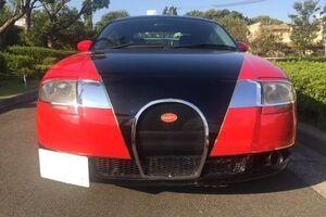 Как выглядит самая дешевая подделка Bugatti Veyron