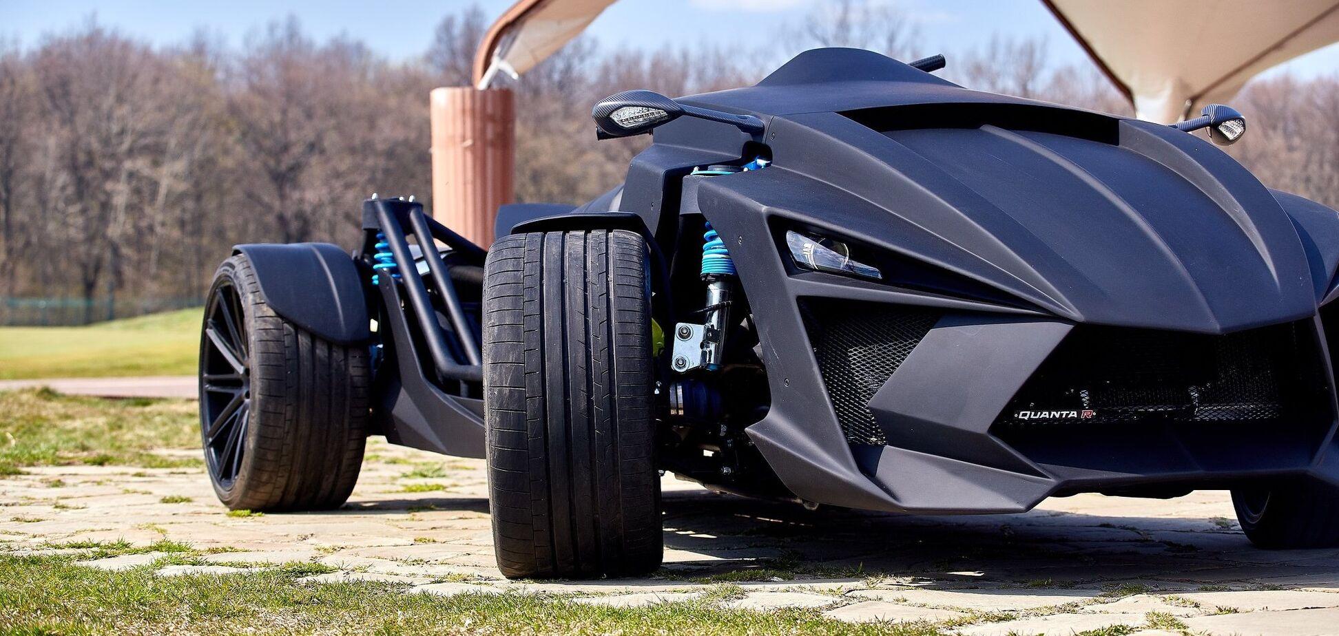 В Украине построили автомобиль с характеристиками суперкара